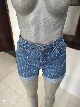 Foto Carousel Producto: Shorts Denim dots puntitos talla 6 GV GoTrendier