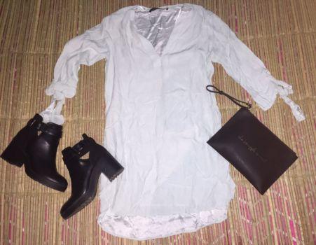 Foto Carousel Producto: Vestido color menta❤️zara GoTrendier