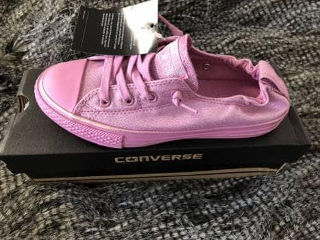 Foto Carousel Producto: CONVERSE- rosa metallico GoTrendier
