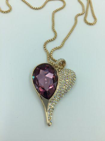 Foto Carousel Producto: Collar de corazon GoTrendier