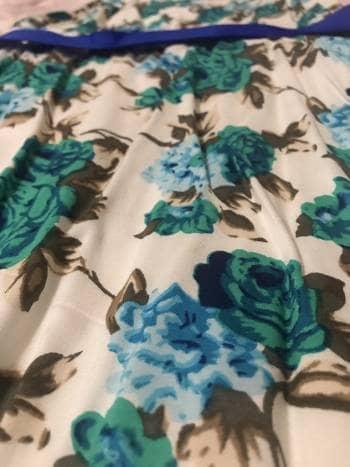 Foto Carousel Producto: Vestido azul floral fresco GoTrendier