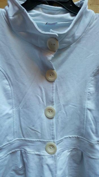 Foto Carousel Producto: Blazer blanco strech☘nuevo GoTrendier
