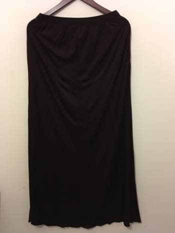 Foto Carousel Producto: Falda larga lisa ginda GoTrendier