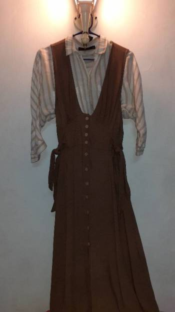Foto Carousel Producto: Vestido largo Forever 21 GoTrendier