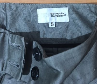 Foto Carousel Producto: Pantalon gris Plata GoTrendier