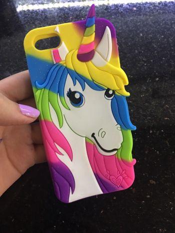 Foto Carousel Producto: Funda unicornio iphone 5 GoTrendier