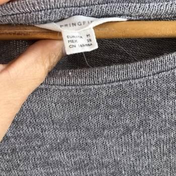 Foto Carousel Producto: Sweater gris jaspeado GoTrendier