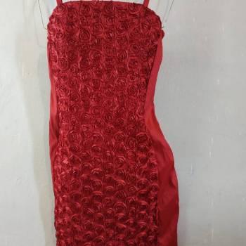 Foto Carousel Producto: 2x1 sexy vestido satinado con rosas  GoTrendier