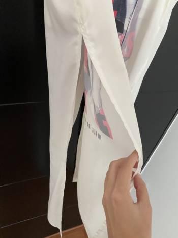 Foto Carousel Producto: Bluson blanco  GoTrendier
