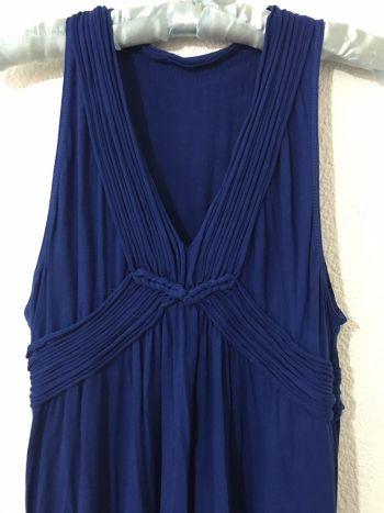 Foto Carousel Producto: Vestido de algodón azul rey muy fresco GoTrendier