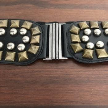Foto Carousel Producto: Cinturón unitalla con estoperoles Zara GoTrendier