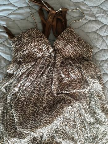 Foto Carousel Producto: Vestido maxi estampado GoTrendier