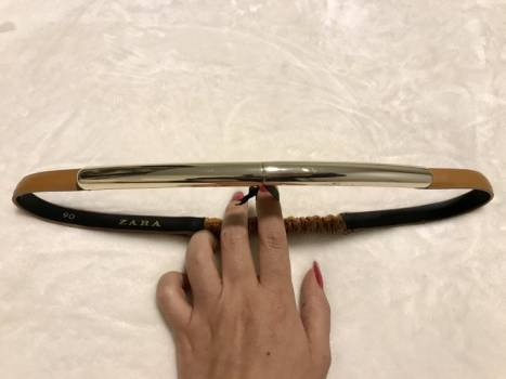 Foto Carousel Producto: Cinturón camel ZARA *Precio Final* GoTrendier