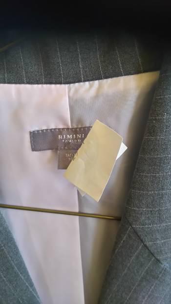 Foto Carousel Producto: Saco de mujer  gris GoTrendier
