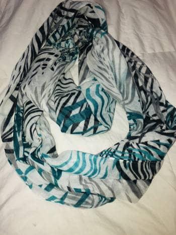 Foto Carousel Producto: Pashmina de tonos de azul GoTrendier