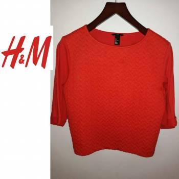 Foto Carousel Producto: Blusa roja talla M manga 3/4 GoTrendier