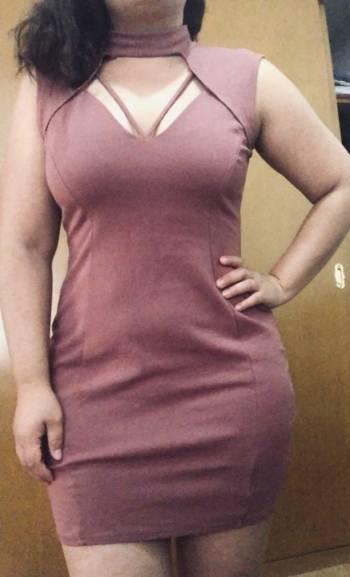 Foto Carousel Producto: Vestido color palo de rosa GoTrendier