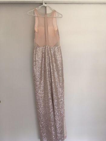 Foto Carousel Producto: Vestido Dorado lentejuela GoTrendier