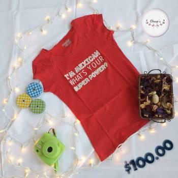 Foto Carousel Producto: Blusa negra estampada y blusa roja GoTrendier