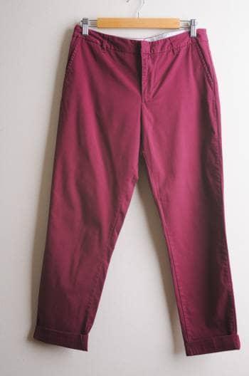 Foto Carousel Producto: Pantalones color vino GoTrendier