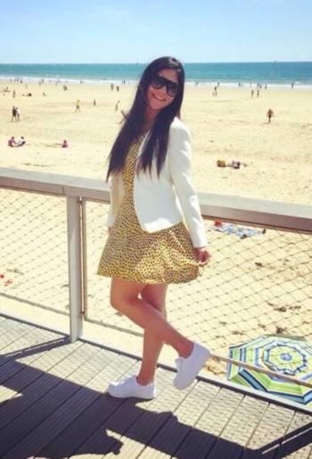 Foto Carousel Producto: Vestido amarillo H&M GoTrendier