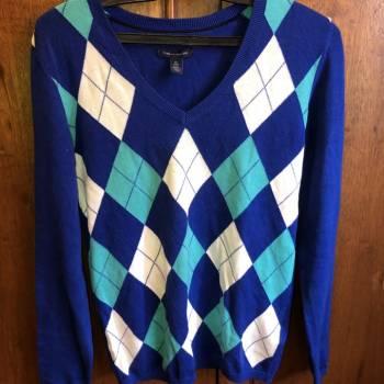 Foto Carousel Producto: Suéter Tommy Hilfiger azul GoTrendier