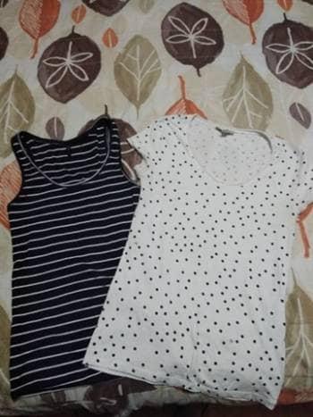 Foto Carousel Producto: Pack hermosas camisetas puntos y rayas GoTrendier