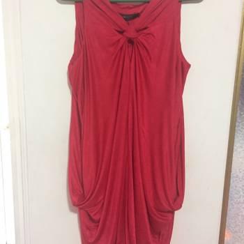 Foto Carousel Producto: Vestido rojo lindo fresco raro GoTrendier