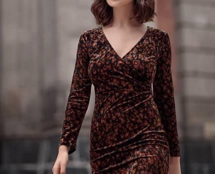 Foto Carousel Producto: Vestido estilo animal print GoTrendier