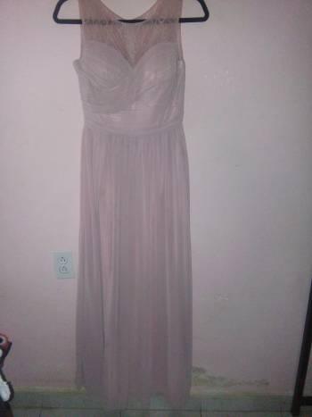 Foto Carousel Producto: Vestido largo color palo rosa GoTrendier