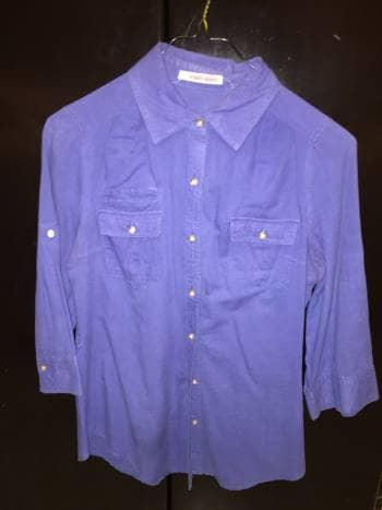 Foto Carousel Producto: Camisa azul GoTrendier