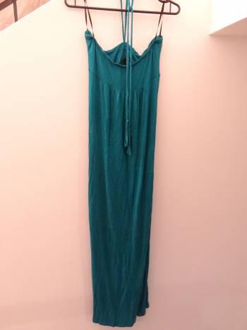 Foto Carousel Producto: Vestido largo azul de Forever 21 GoTrendier