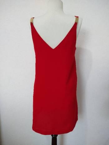 Foto Carousel Producto: Vestido rojo de tirantes Mango GoTrendier