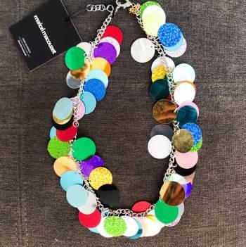 Foto Carousel Producto: Collar statement de lentejuelas  GoTrendier