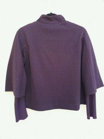 Foto Carousel Producto: Sueter abrigo morado GoTrendier