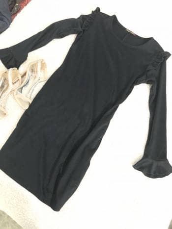 Foto Carousel Producto: Vestido Nego Elegante GoTrendier