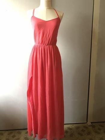 Foto Carousel Producto: Vestido coral. GoTrendier