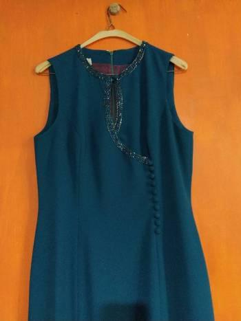 Foto Carousel Producto: Vestido vintage color verde GoTrendier