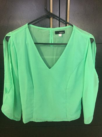 Foto Carousel Producto: Blusa verde menta GoTrendier