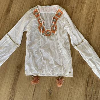Foto Carousel Producto: Blusa bordada boho blanca  GoTrendier