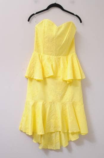 Foto Carousel Producto: Vestido amarillo GoTrendier
