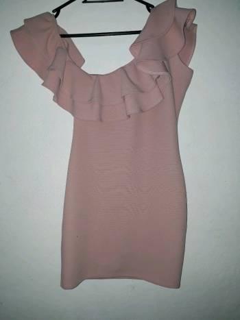 Foto Carousel Producto: Vestido rosa nude GoTrendier