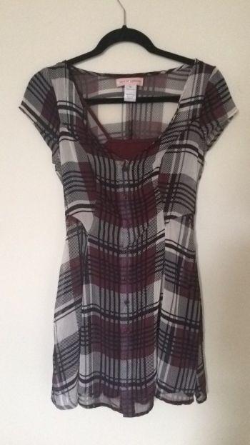 Foto Carousel Producto: Vestido estilo escocés GoTrendier