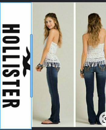 Foto Carousel Producto: Jeans SoCal Stretch Hollister T.3 GoTrendier