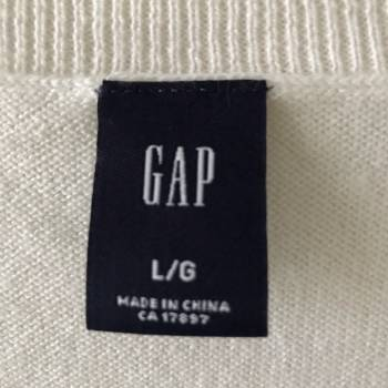 Foto Carousel Producto: Sueter V largo Gap GoTrendier