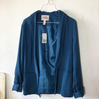 Foto Carousel Producto: Blazer Azul F21 GoTrendier
