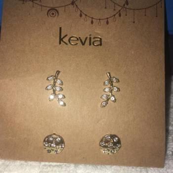 Foto Carousel Producto: Kevia Set 2 Artes Circonia GoTrendier