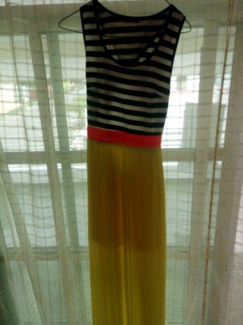 Foto Carousel Producto: Maxi vestido amarillo hermoso GoTrendier