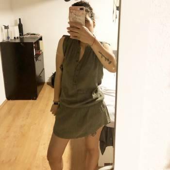 Foto Carousel Producto: Vestido verde militar GoTrendier