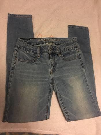Pantalones American Eagle Mujer De American Eagle Outfitters De Segunda Mano Gotrendier